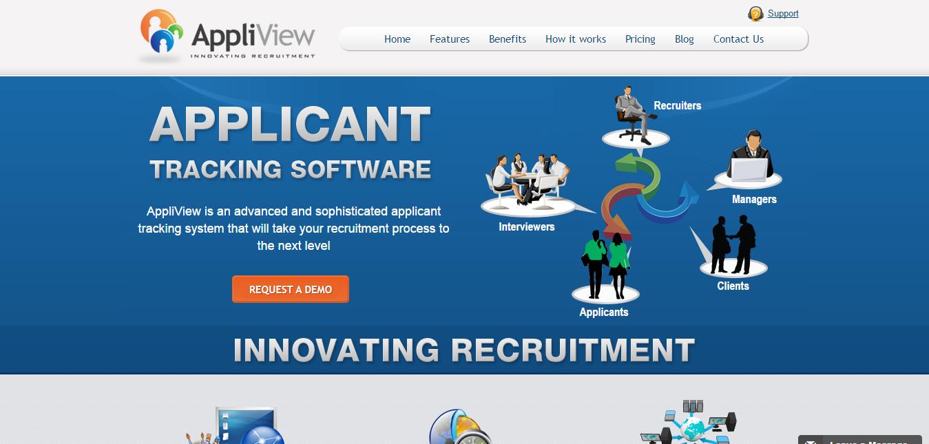 Recruitment App Website