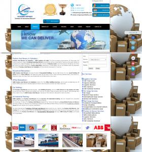 Transport & Logistic Website