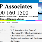 Website Design For London Based Chartered Accountant