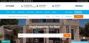 for rental property listing