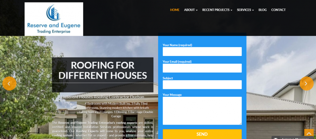 House Building Services Web Development