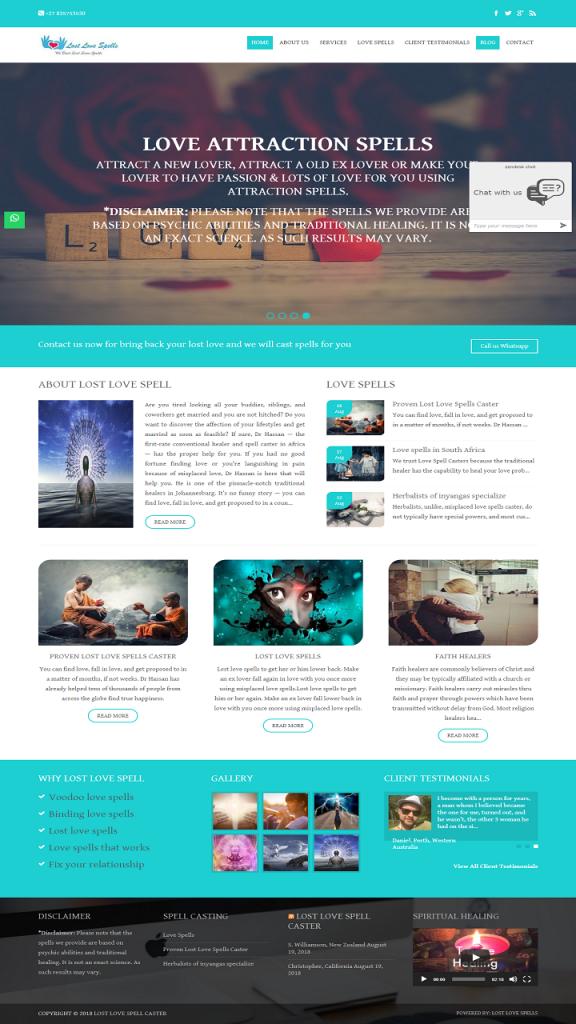 Smart Phone Friendly Website Designing Villeria