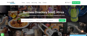 Business Directory Website Development Project by Digital Marketing PTA