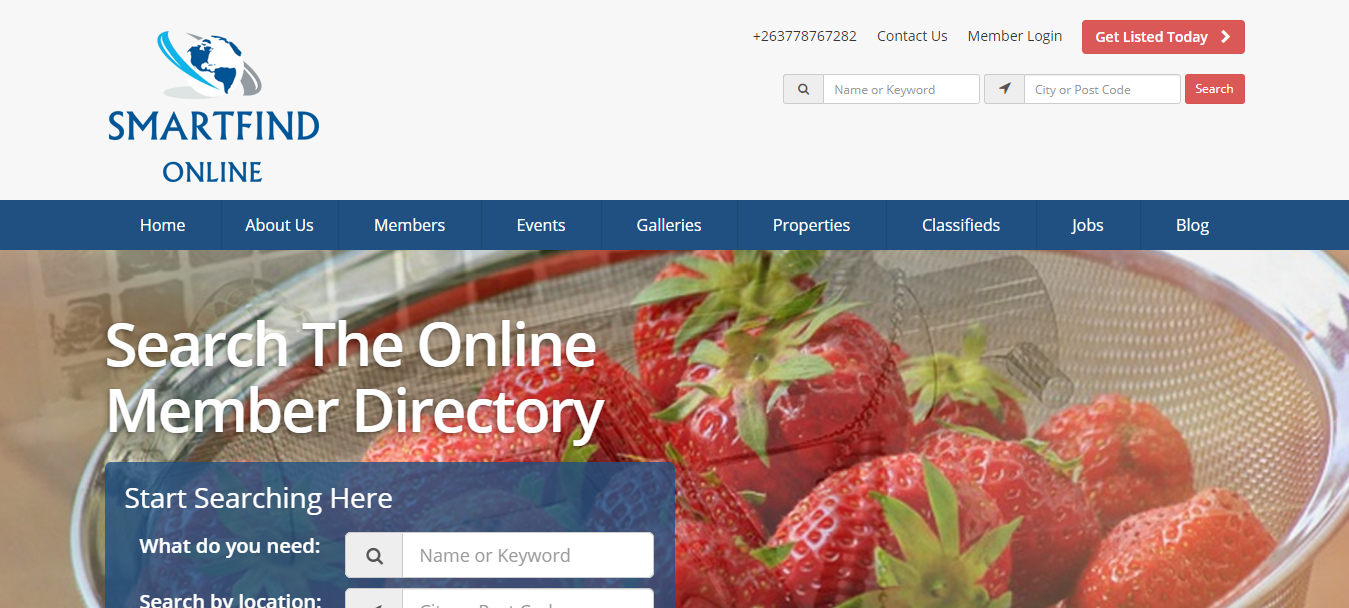 Business Directory Website Development