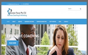 Life Coach Company in Pretoria Website Design Project