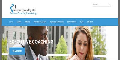Life Coach Company in Pretoria Website Design Project
