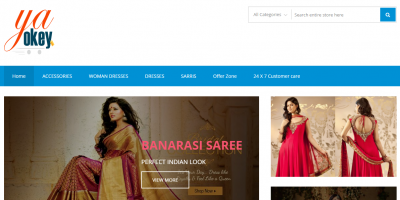 Indian Ecommerce online Shopping Store Designed By Digital Marketing