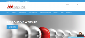 PretoriaWEB Traffic Website Design Company in Pretoria