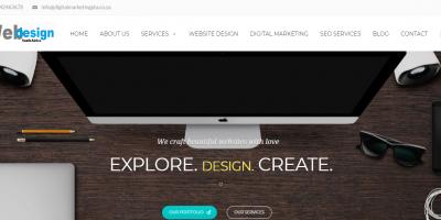 Website Design Company based in Pretoria by Digital Marketing PTA