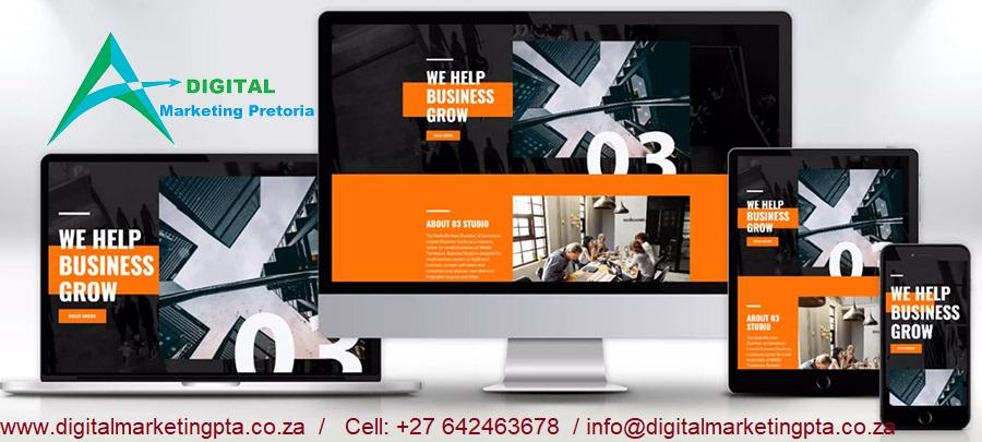 wordpress website design company in pretoria centurion